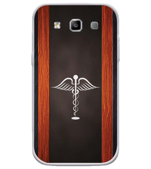 Doctor Symbol Soft Silicone Back Cover for Samsung Galaxy Grand Quattro 8552