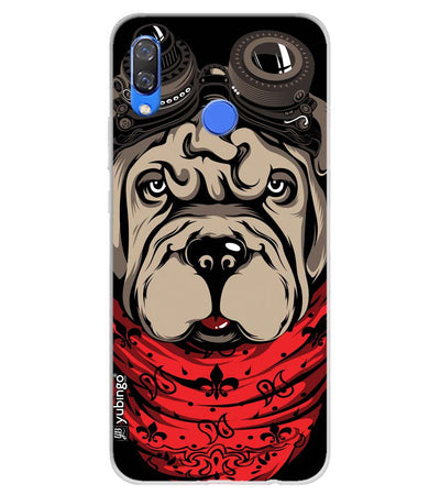Dog Punk Soft Silicone Back Cover for Huawei Y9 (2019)
