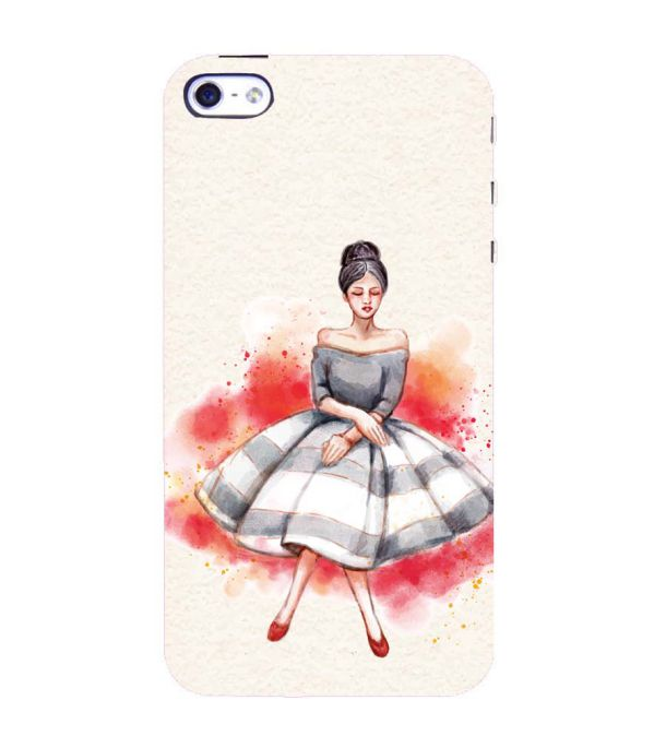 Dream Girl Back Cover for Apple iPhone 4 : 4S