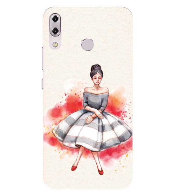 Dream Girl Back Cover for Asus Zenfone 5z ZS620KL