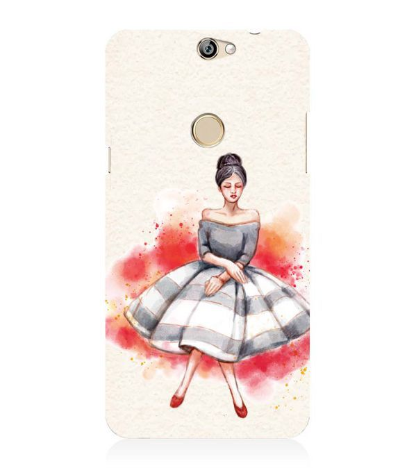 Dream Girl Back Cover for Coolpad Max