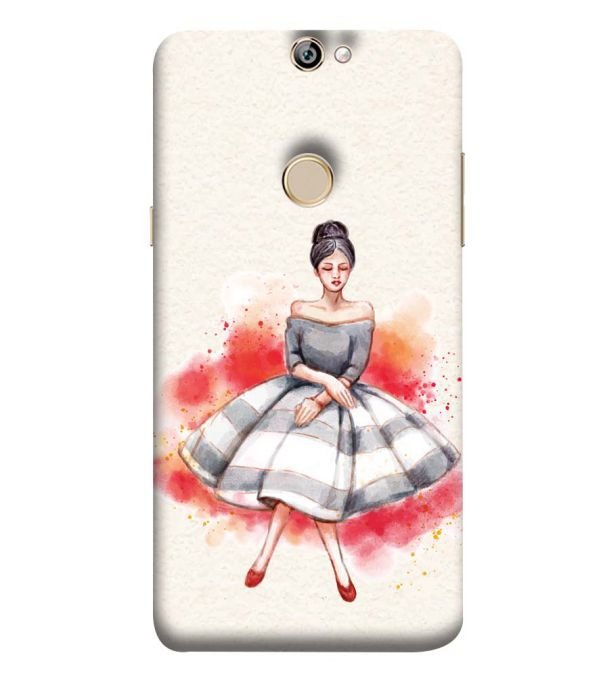Dream Girl Back Cover for Coolpad Max A8
