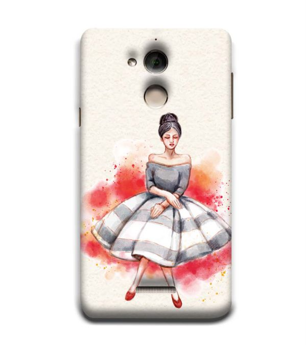 Dream Girl Back Cover for Coolpad Note 5