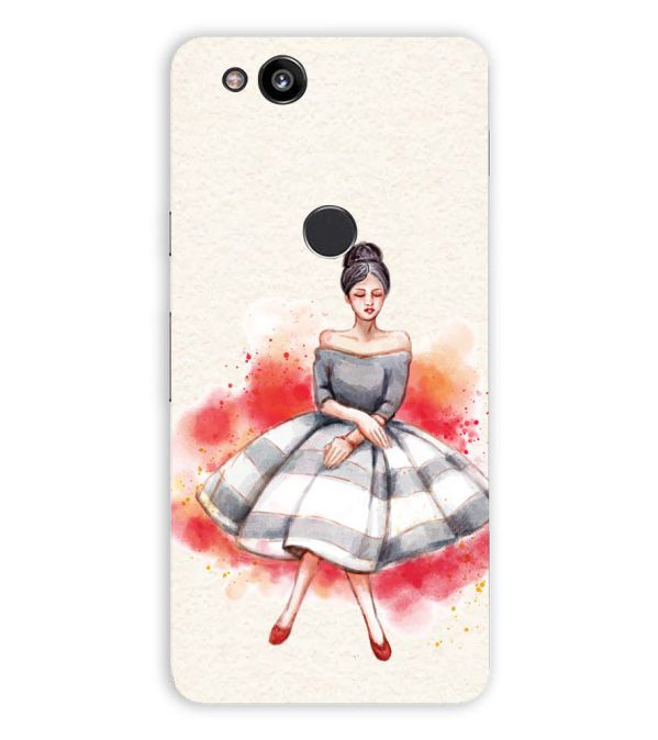 Dream Girl Back Cover for Google Pixel 2 (5 Inch Screen)
