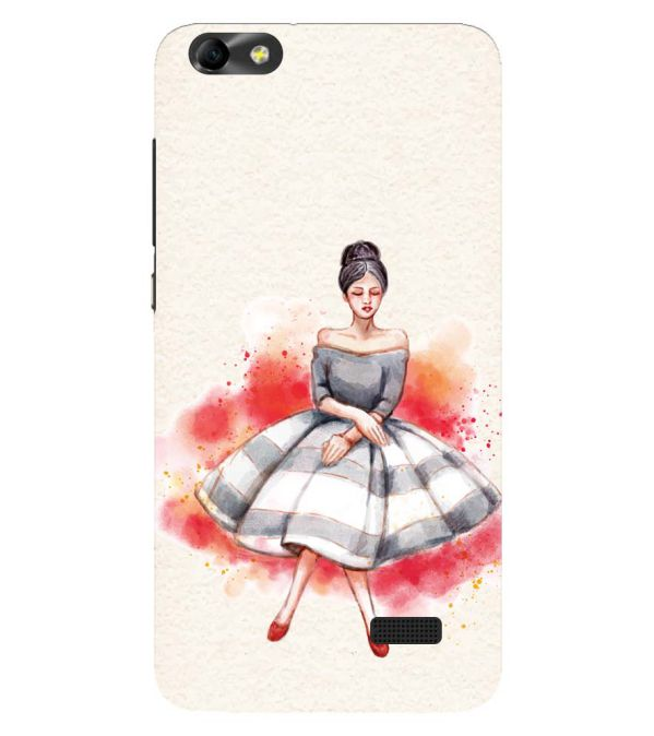 Dream Girl Back Cover for Huawei Honor 4C