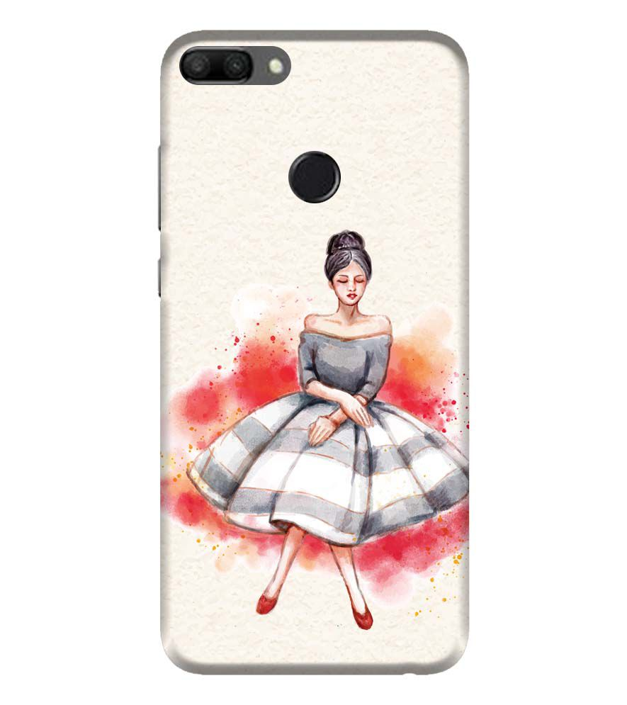 best sneakers af29c dc2bc Dream Girl Back Cover for Huawei Honor 9N