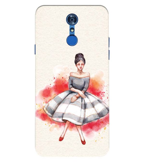 Dream Girl Back Cover for LG Q7