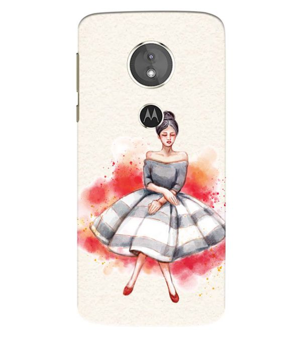 Dream Girl Back Cover for Motorola Moto E5 Play