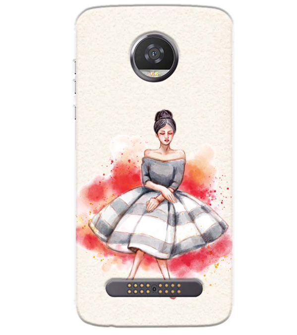 Dream Girl Back Cover for Motorola Moto Z3 Play