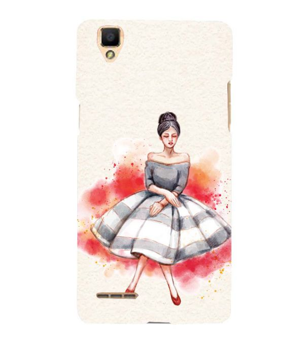 Dream Girl Back Cover for Oppo F1