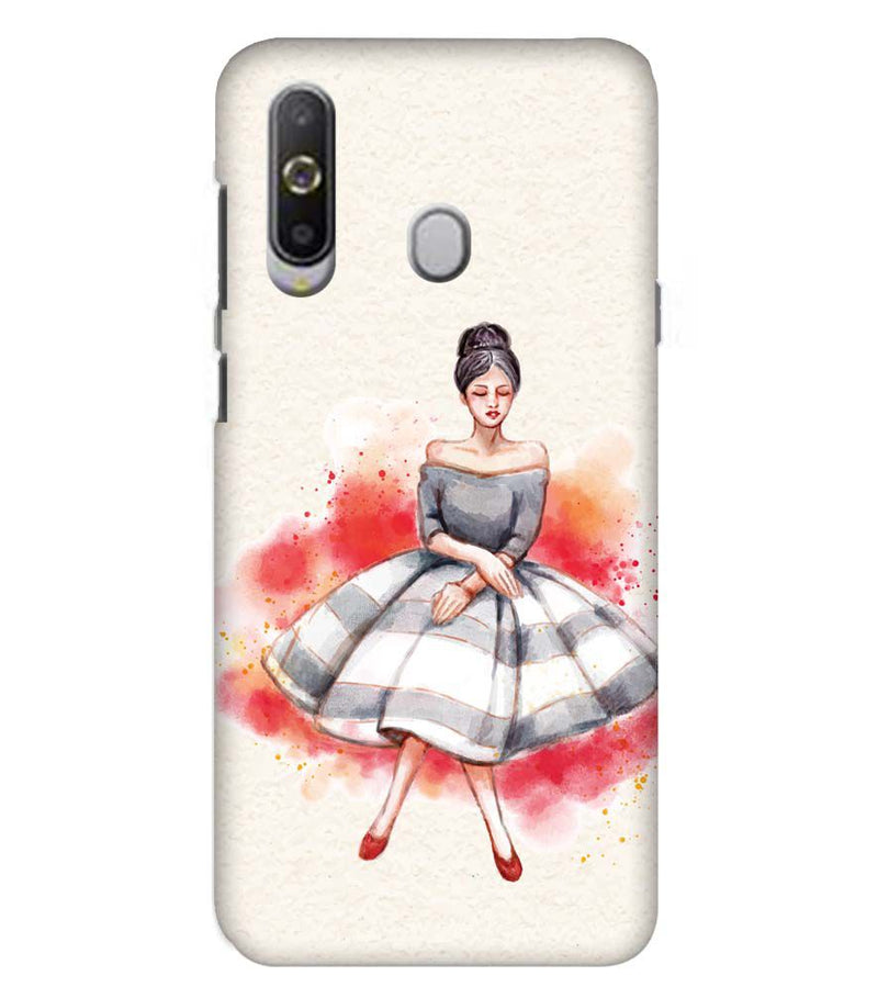 Dream Girl Back Cover for Samsung Galaxy A8s