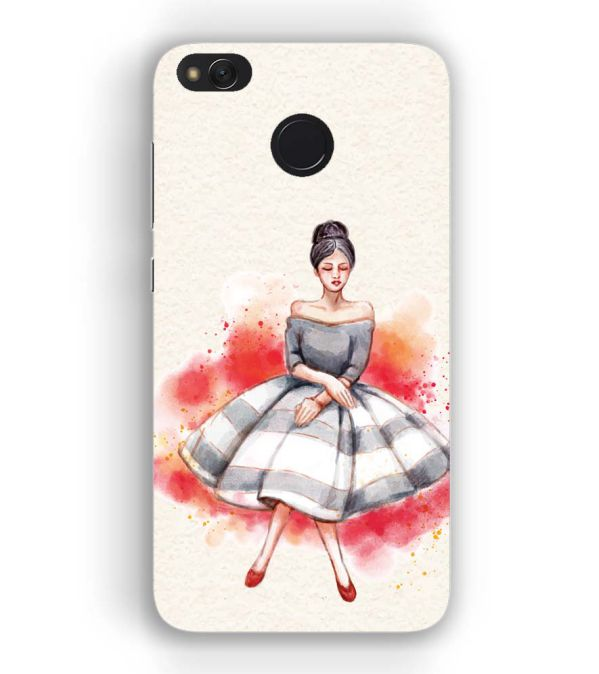 finest selection 456ac 3ee3f YuBingo - Buy Dream Girl Back Cover for Xiaomi Redmi 4 : 4X in India ...