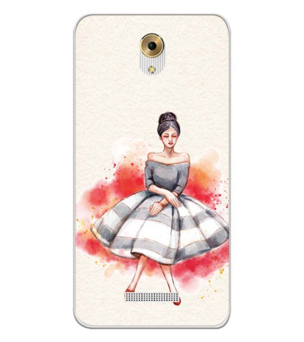 Dream Girl Back Cover for Coolpad Mega 5M-Image3