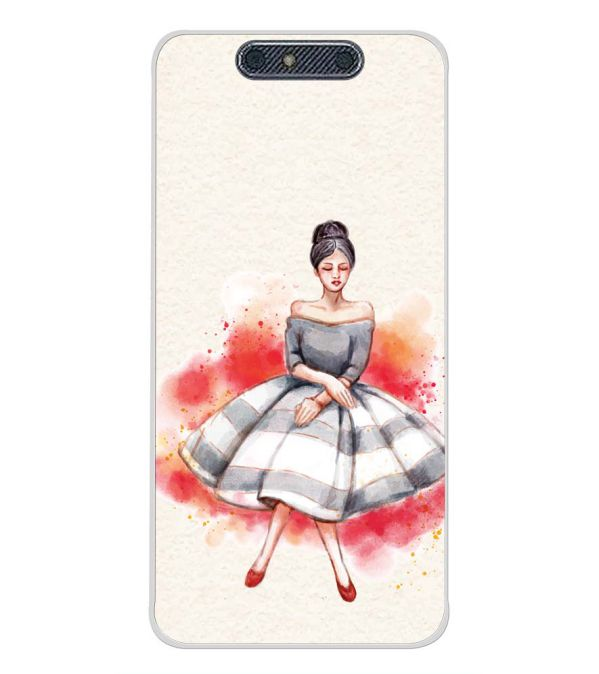 Dream Girl Back Cover for Micromax Dual 4 E4816-Image3