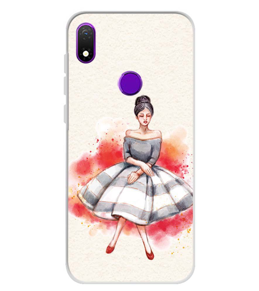 Dream Girl Soft Silicone Back Cover for Mobiistar X1 Notch