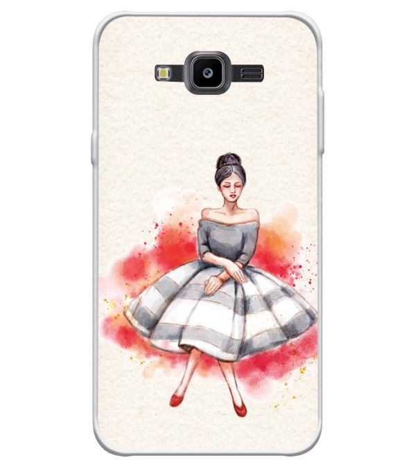 Dream Girl Soft Silicone Back Cover for Samsung Galaxy J7 Nxt