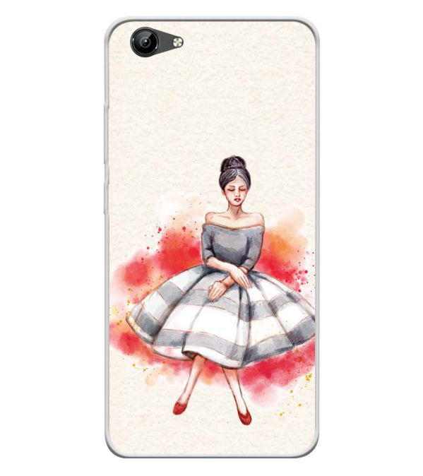 Dream Girl Soft Silicone Back Cover for Vivo Y71i