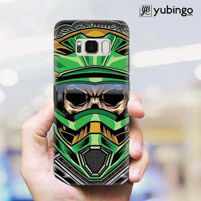 Driving Skull Back Cover for Samsung Galaxy S8 Plus-Image2