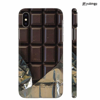 Eat that Chocolate Bar Back Cover for Apple iPhone X
