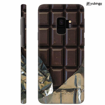 Eat that Chocolate Bar Back Cover for Samsung Galaxy S9