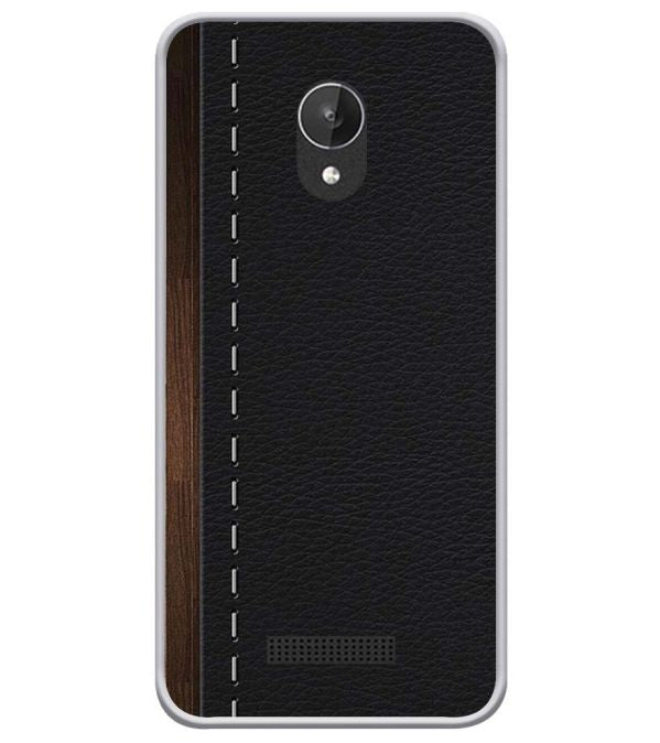 Edge Of The Book Soft Silicone Back Cover for Micromax Spark Q380