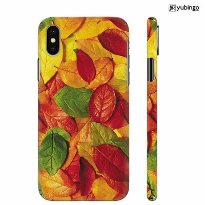 Fallen Leaves Back Cover for Apple iPhone X
