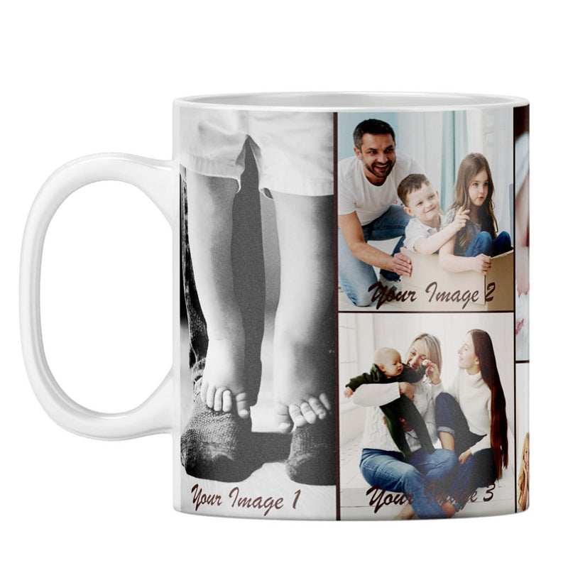 Family Collage Coffee Mug