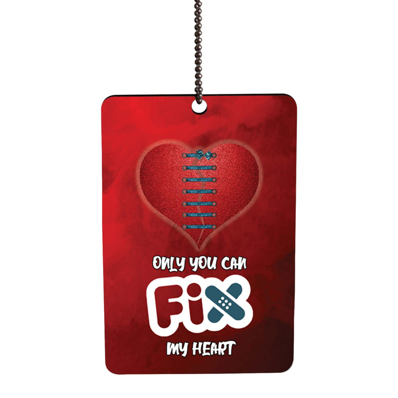 Fix My Heart Car Hanging