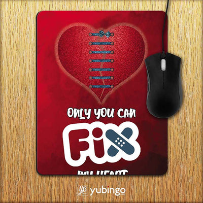 Fix My Heart Mouse Pad-Image2