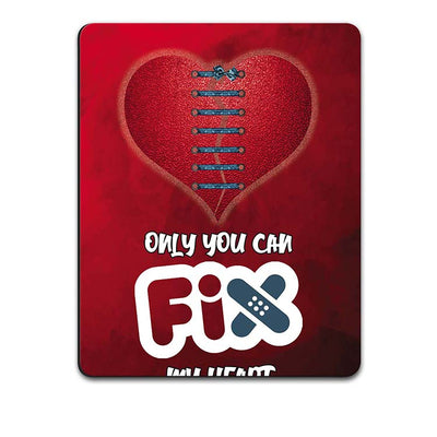 Fix My Heart Mouse Pad