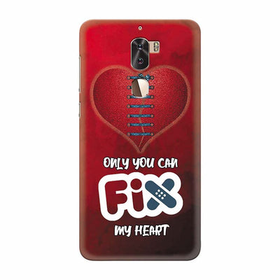 Fix My Heart Back Cover for Coolpad Cool 1