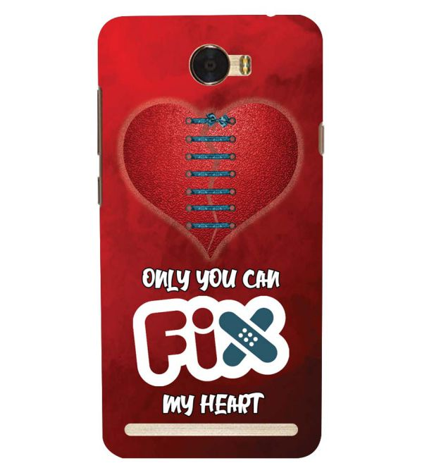 Fix My Heart Back Cover for Huawei Honor Bee 2 :: Huawei Y3 2