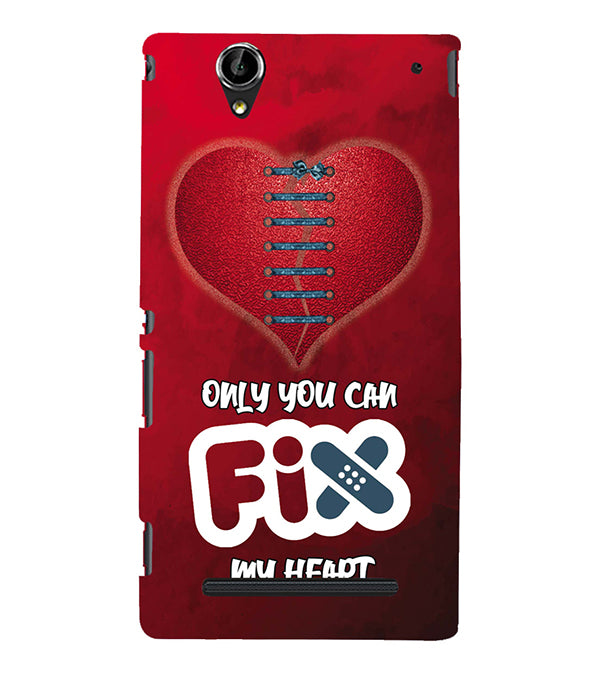 Fix My Heart Back Cover for Sony Xperia T2