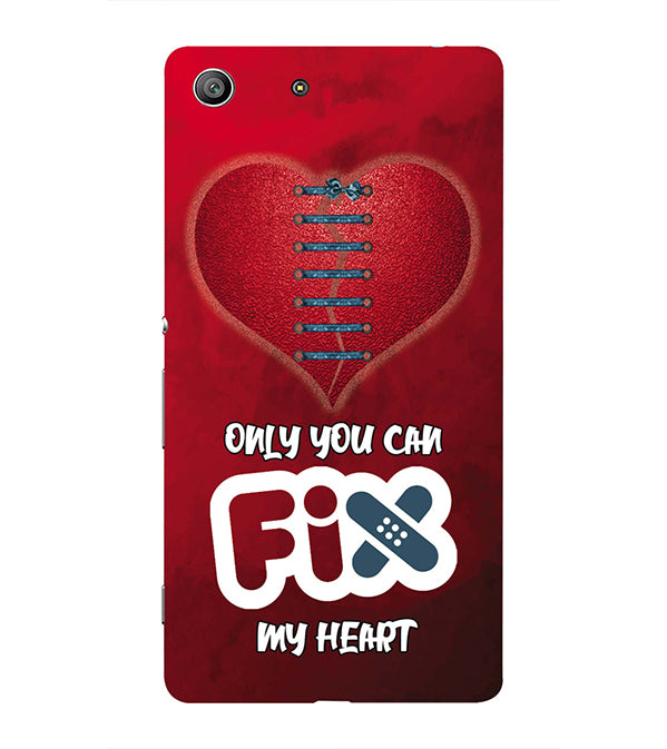 Fix My Heart Back Cover for Sony Xperia Z3 Compact
