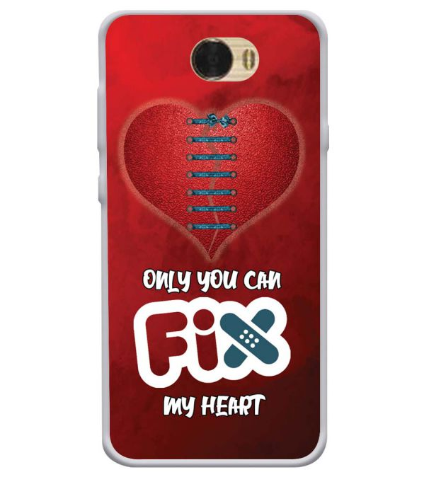 Fix My Heart Soft Silicone Back Cover for Huawei Honor Bee