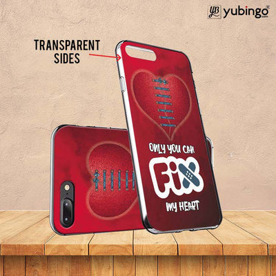 Fix My Heart Soft Silicone Back Cover for Vivo X21-Image3