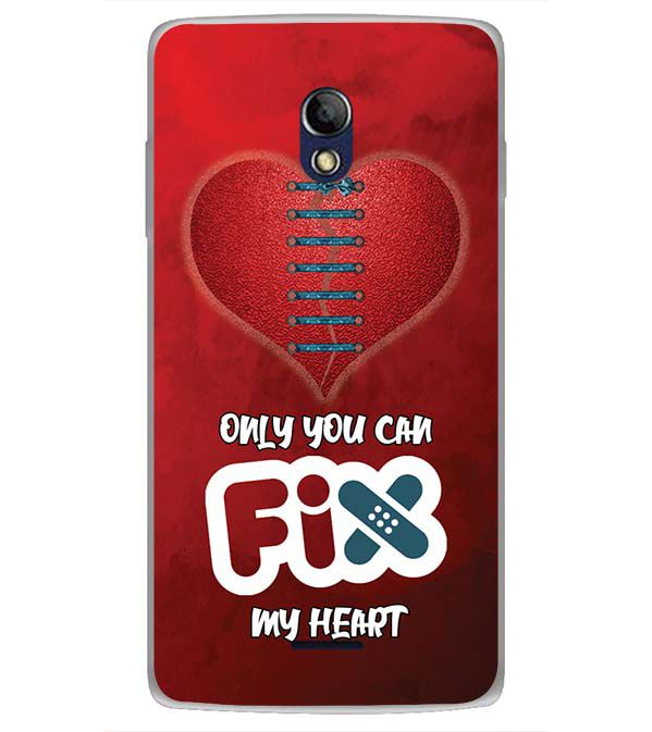 Fix My Heart Back Cover for Oppo Joy 3 Plus