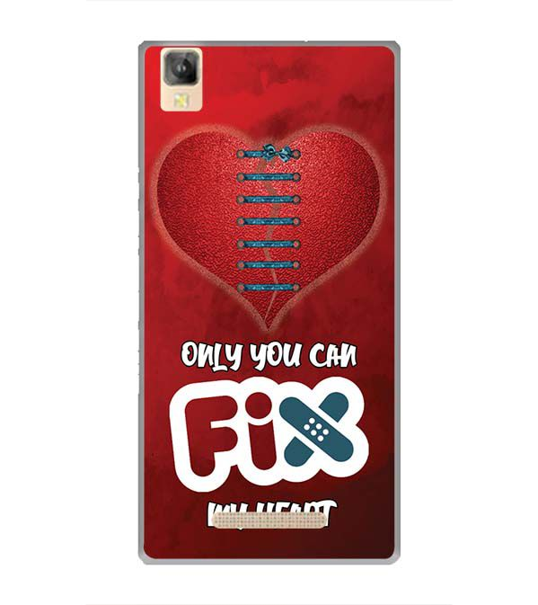 Fix My Heart Back Cover for Panasonic Eluga A2