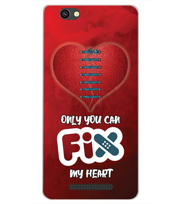 reputable site 2bcd4 7059d Fix My Heart Back Cover for Xolo Era 4G
