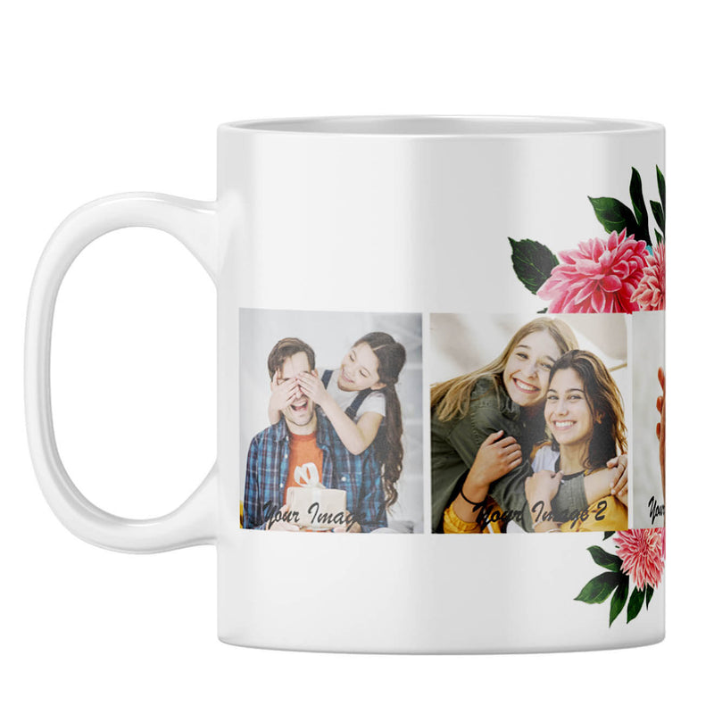 Flowery Coffee Mug