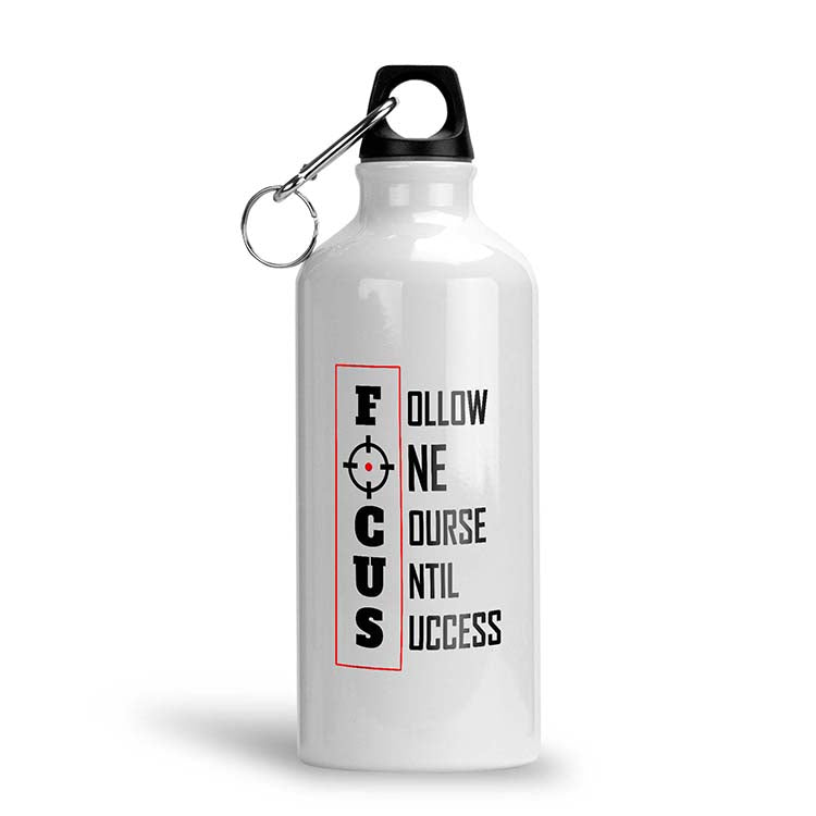 Focus Water Bottle