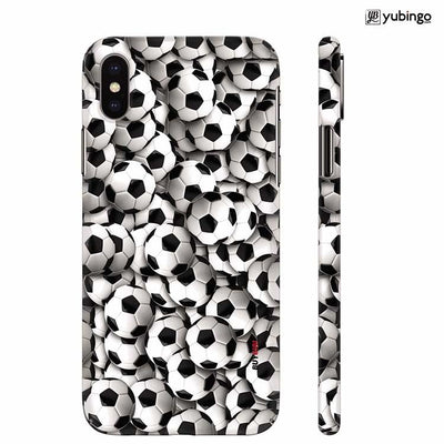 Footballs Back Cover for Apple iPhone X