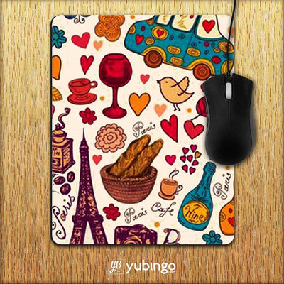 French Delight Mouse Pad-Image2