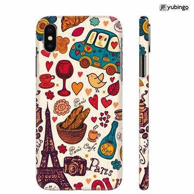 French Delight Back Cover for Apple iPhone X