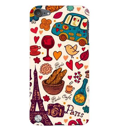 French Delight Back Cover for Apple iPod Touch 5