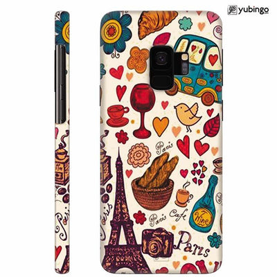 French Delight Back Cover for Samsung Galaxy S9