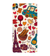 French Delight Back Cover for Sony Xperia M4 Aqua