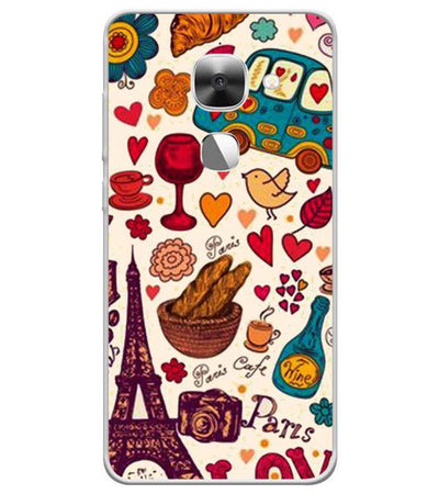 French Delight Back Cover for LeEco Le 2s
