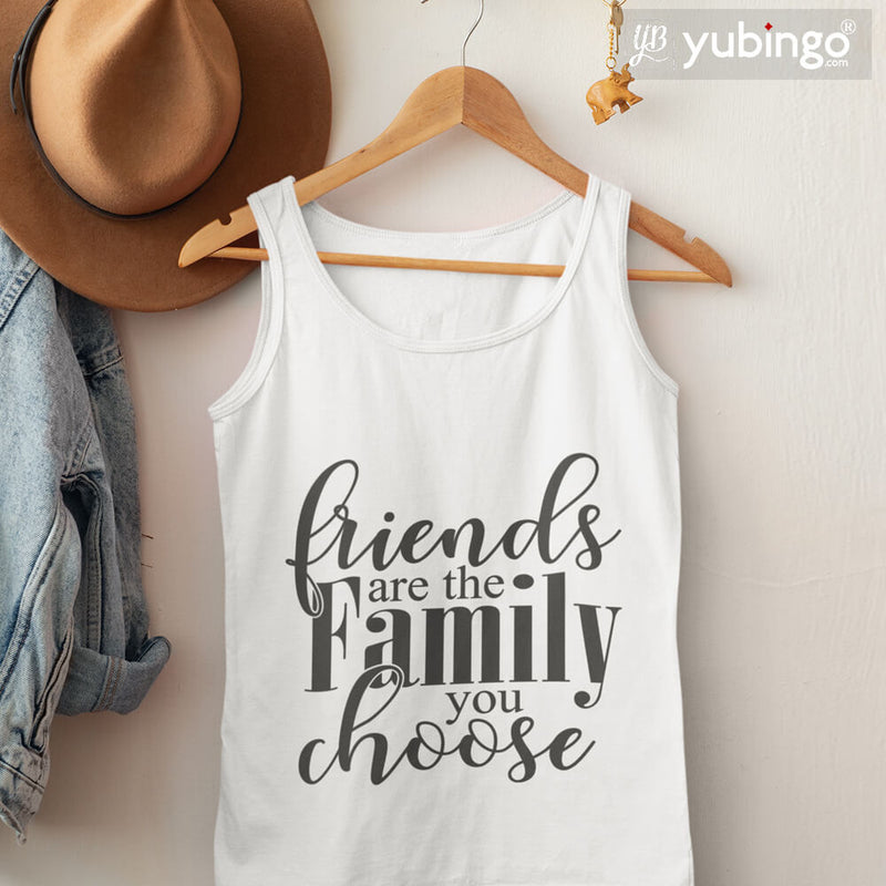 Friends Are Family Tank Tops