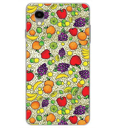 Fruits Pattern Back Cover for ITEL PWO Pro